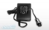 Adapter 9V met CB plug